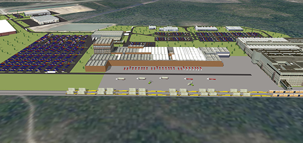 Port Panama City's Intermodal Distribution Center Image 2